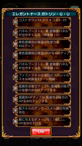 黒猫のウィズ ガトリン・G・U